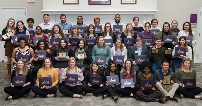 Annual Banquet Recognizes Campus Leaders