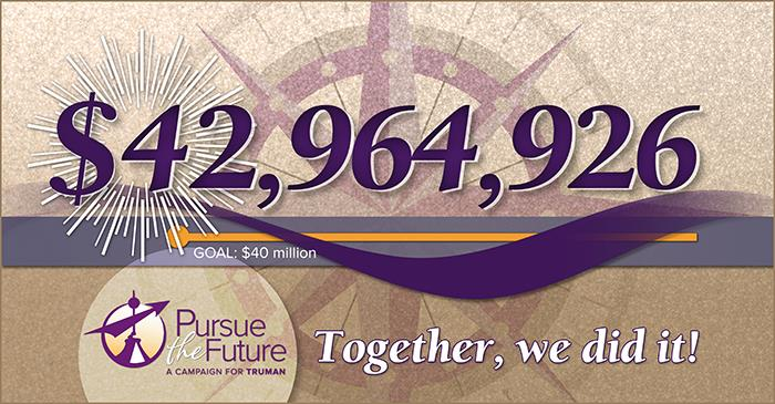 """Pursue the Future"" Campaign Closes Beyond Goal"