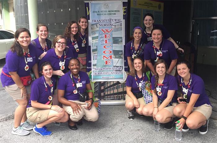 Truman Nursing Students Visit the Philippines