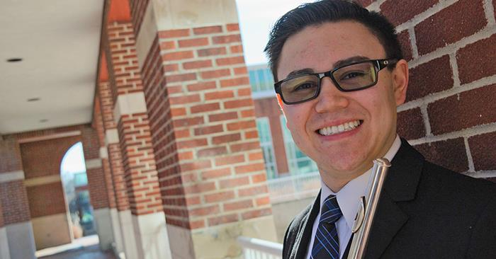 Flutist Earns $2,000 at National Competition