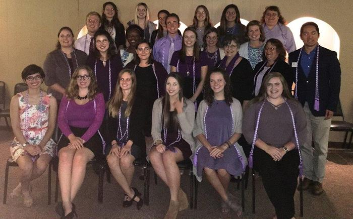 Nursing Society Inducts New Members