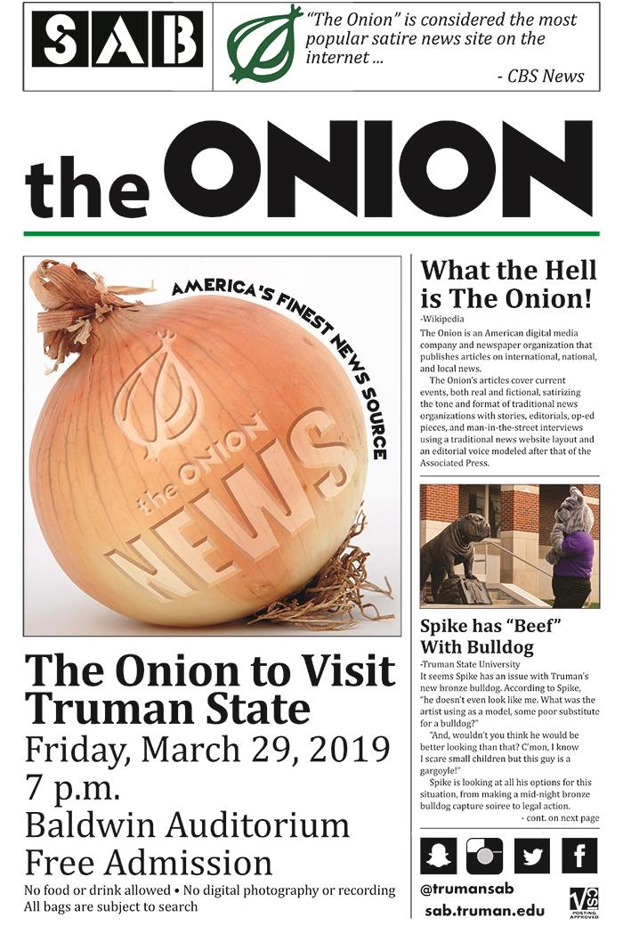 Sab Presents A Layered Discussion With The Onion Vol 23 No