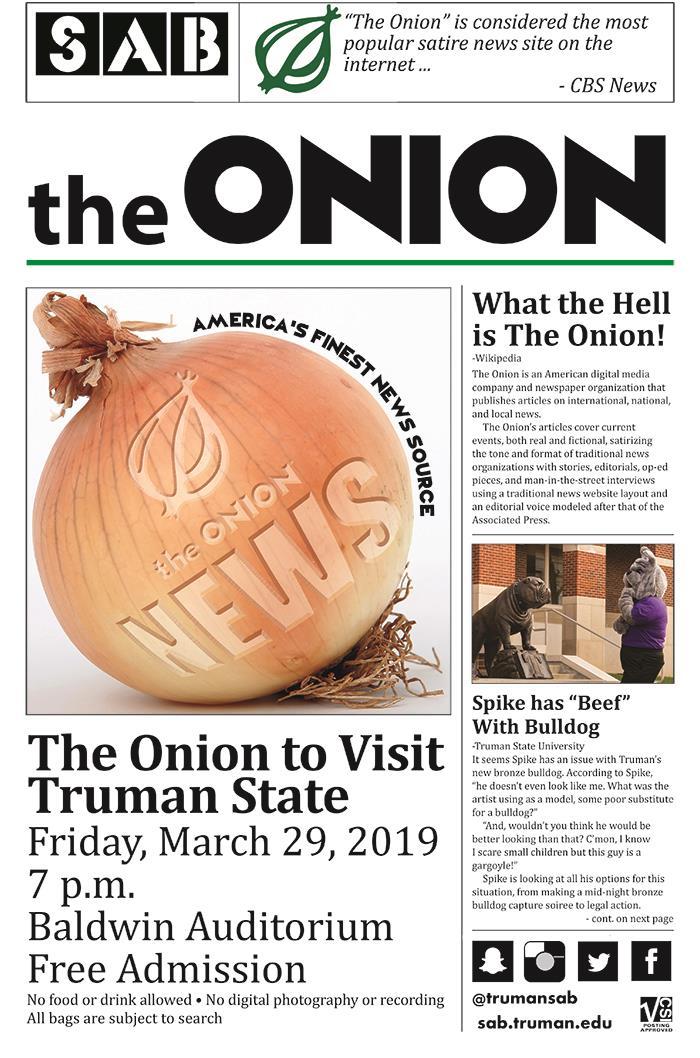 Truman Today | Features - Vol  23 No  26 - March 25, 2019