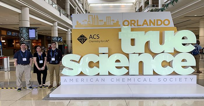 Chemistry Students Present Research at Conference