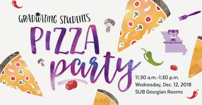 December Grads Invited for Free Pizza and T-shirt