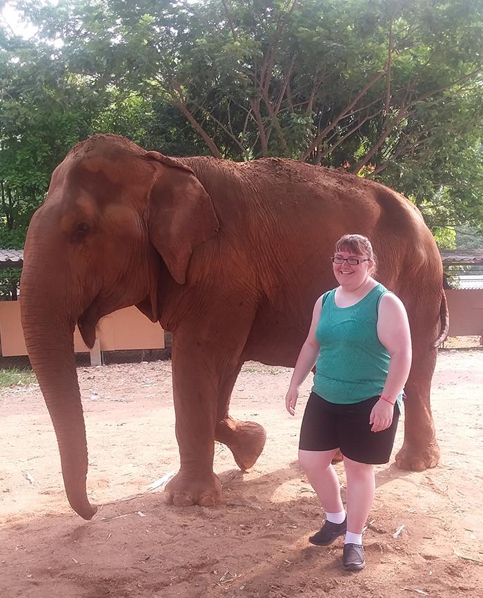 Student Helps Animals During Study Abroad