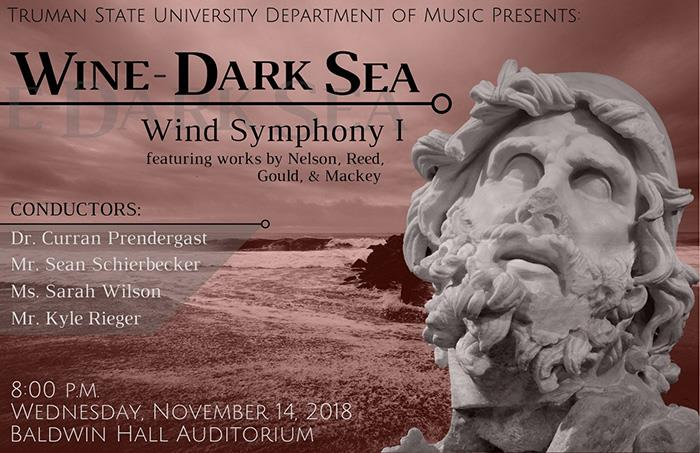 "Wind Symphony to Perform ""Wine-Dark Sea"""