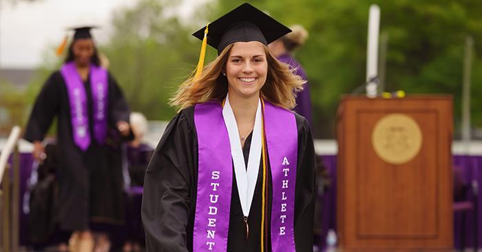 Student-Athletes Earn Award for Academic Success