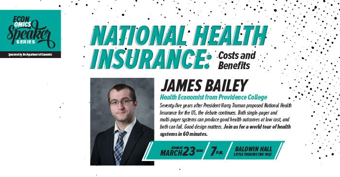 Econ Speaker to Examine Health Care Costs