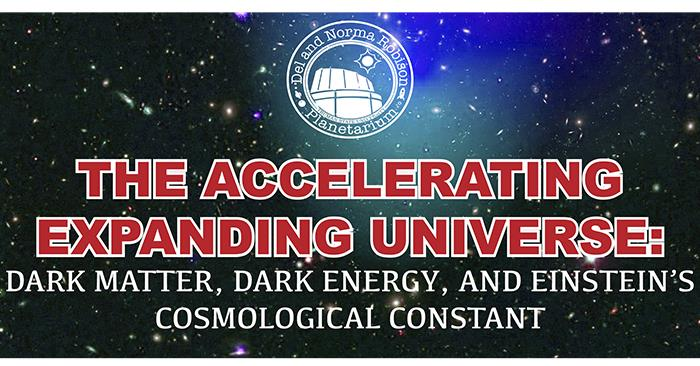 Guest Professor to Discuss Dark Matter and Dark Energy