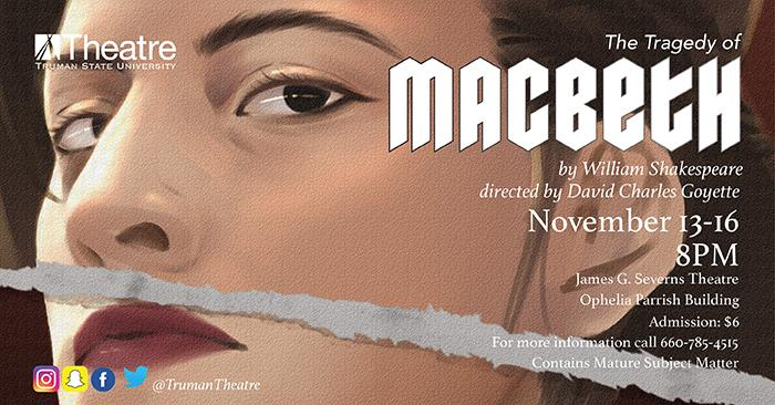 "Theatre Department to Perform ""Macbeth"""