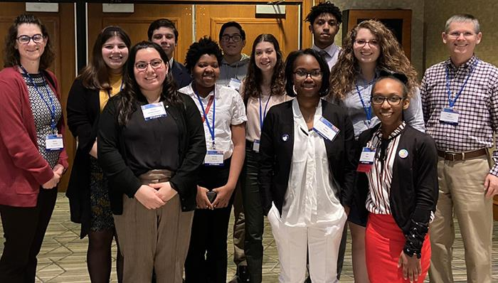 Students and Faculty Attend Conference in DC