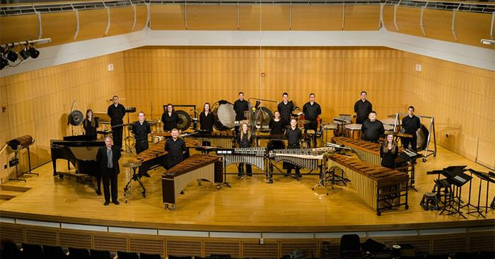 Music Department Hosts Annual Percussion Concert