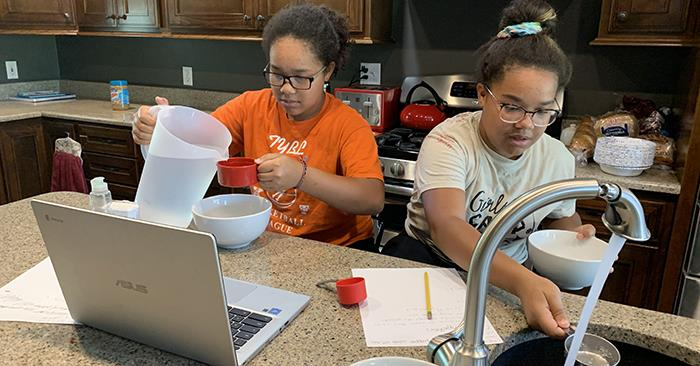 Virtual Summer Program Engages Local Children, Gives MAE Students Experience